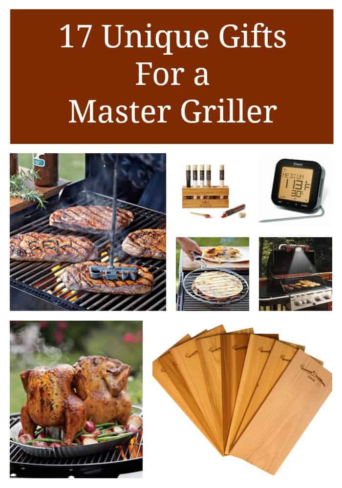 17 unique gifts for a master griller
