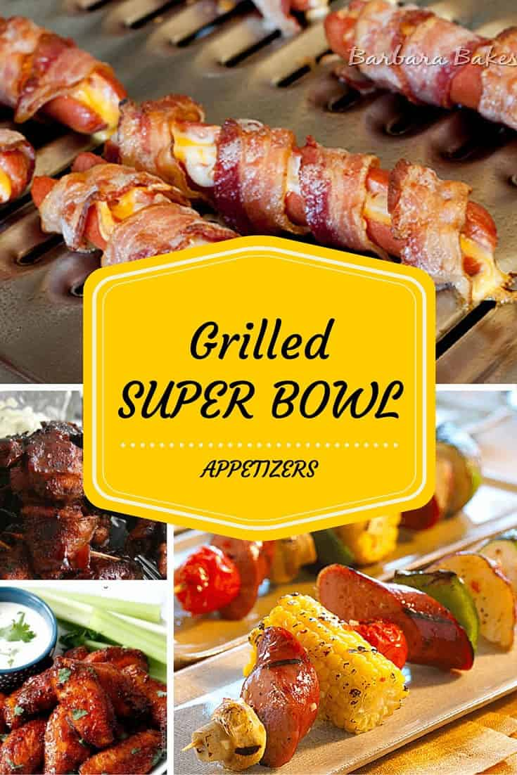 super bowl appetizers grilled bowl appetizers gourmet grillmaster 31412